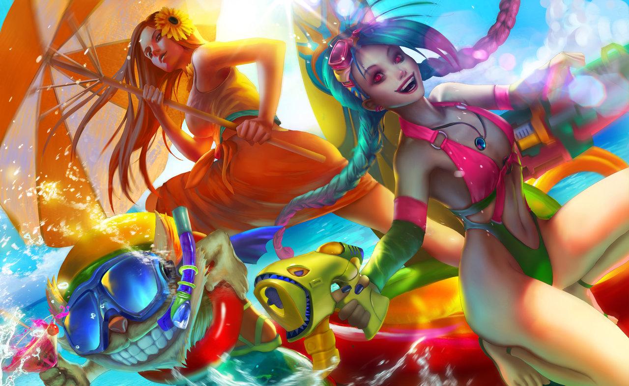 Pool Party fan art!