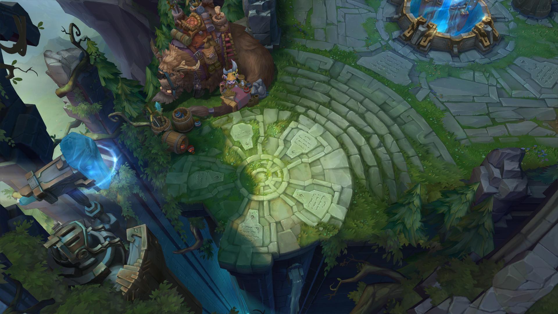 summoner's rift  league of legends - the battle for the rift the largest map in league of legends