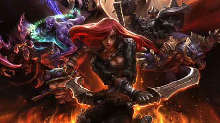 get started league of legends