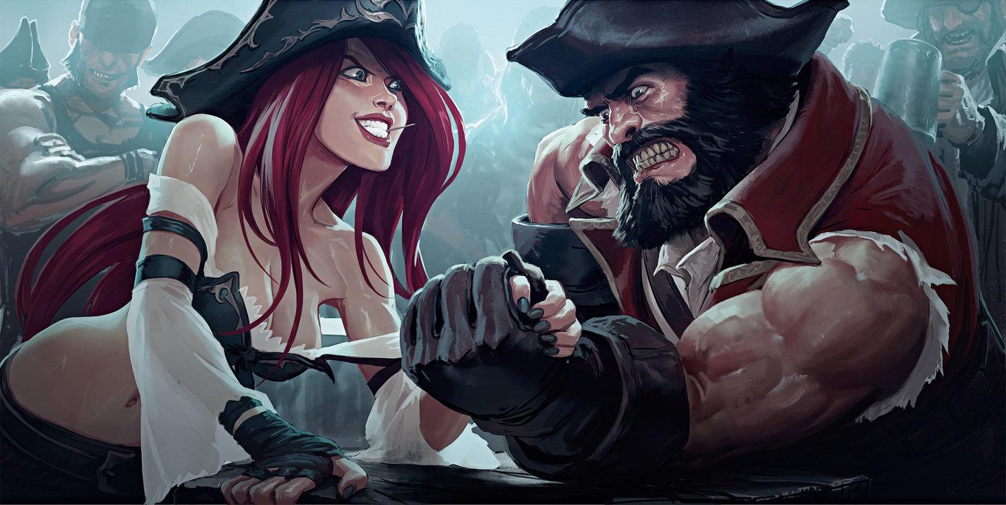 L'Art de League of Legends Missfortune_11_col5