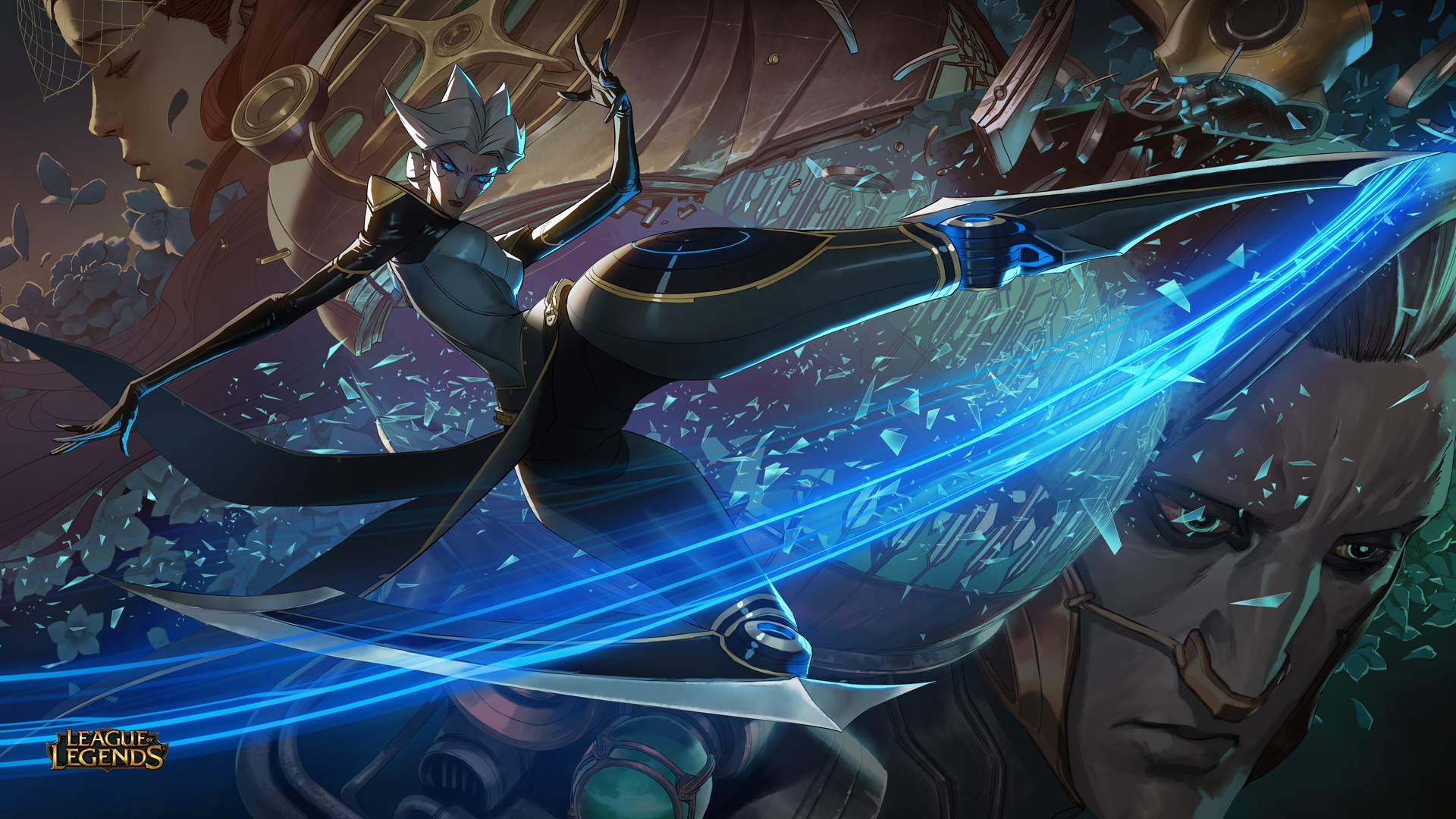 Champion Reveal: Camille, the Steel Shadow - League of Legends