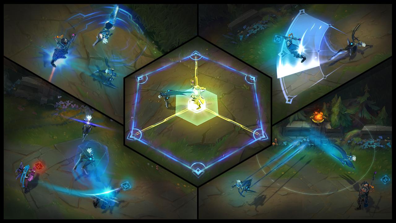 Présentation De Champion Camille Ombre Dacier League Of Legends