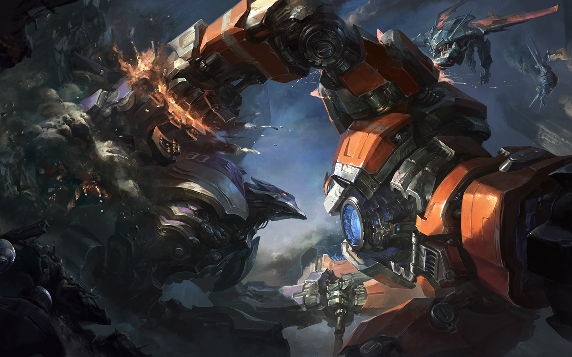 Surrender at 20: Mecha Zero Sion now available!