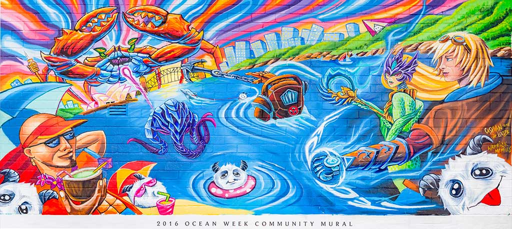 finest selection e323e c943a Ocean Week 2016 Mural
