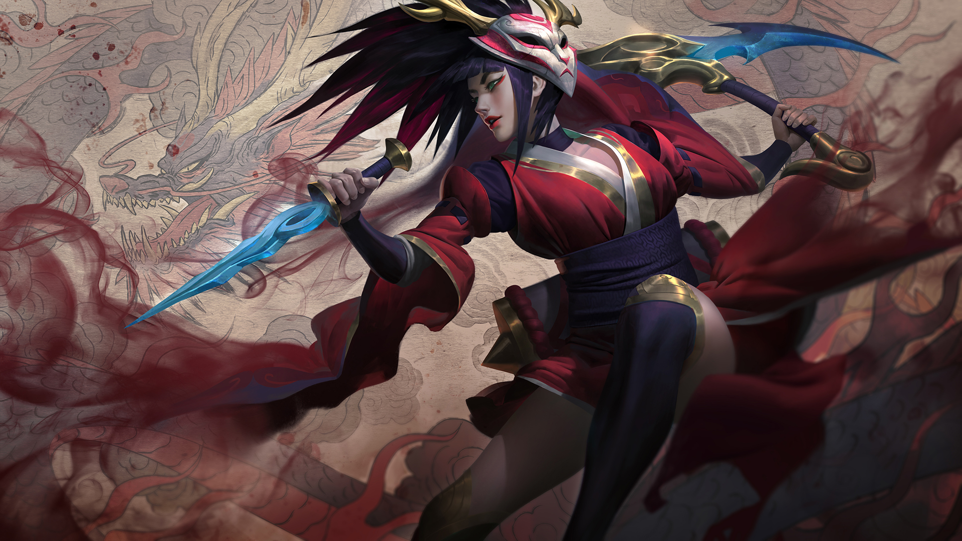 I Think Blood Moon Akali Splash Is A Step Down From Her