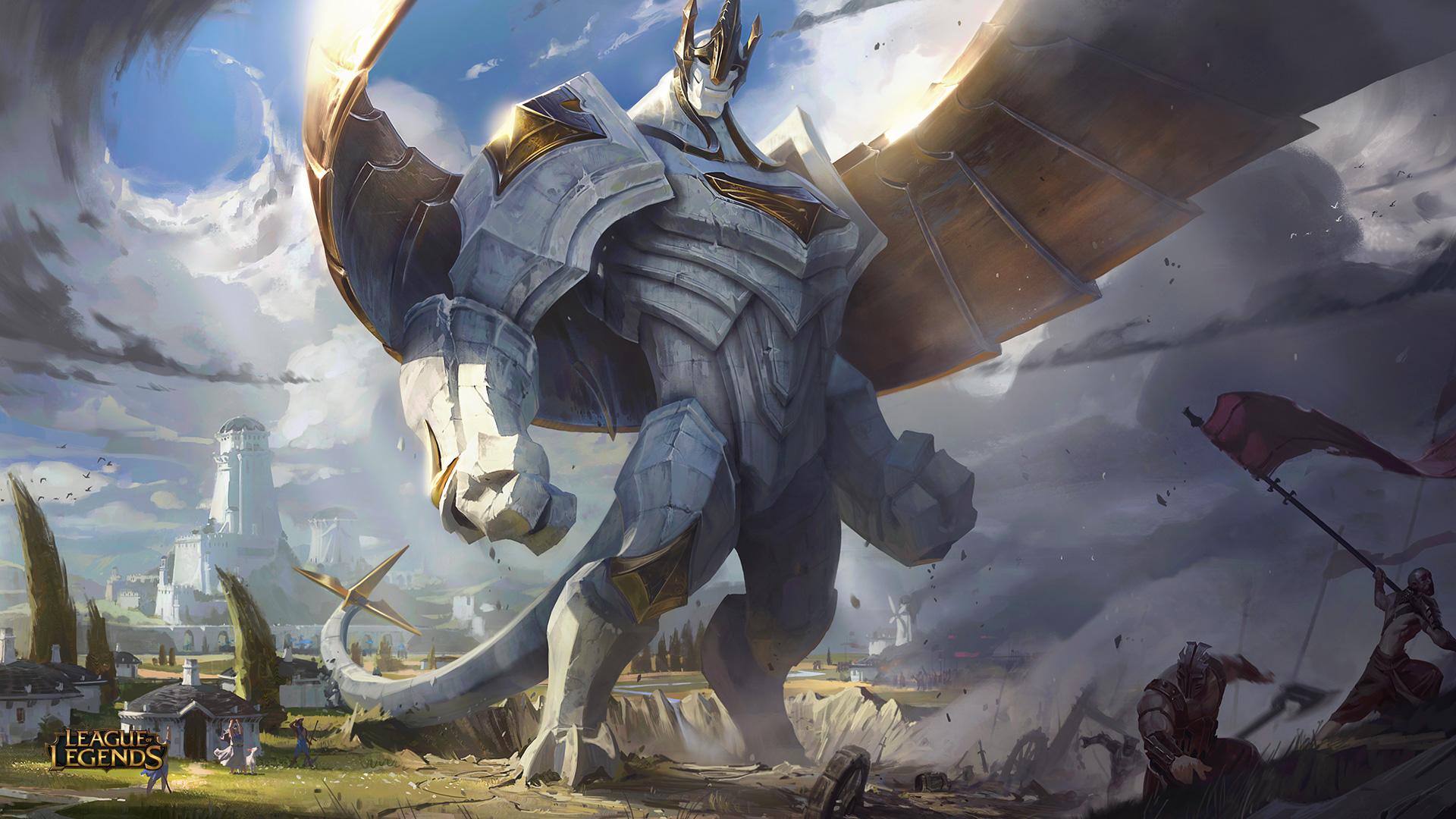 Champion Update: Galio, the Colossus