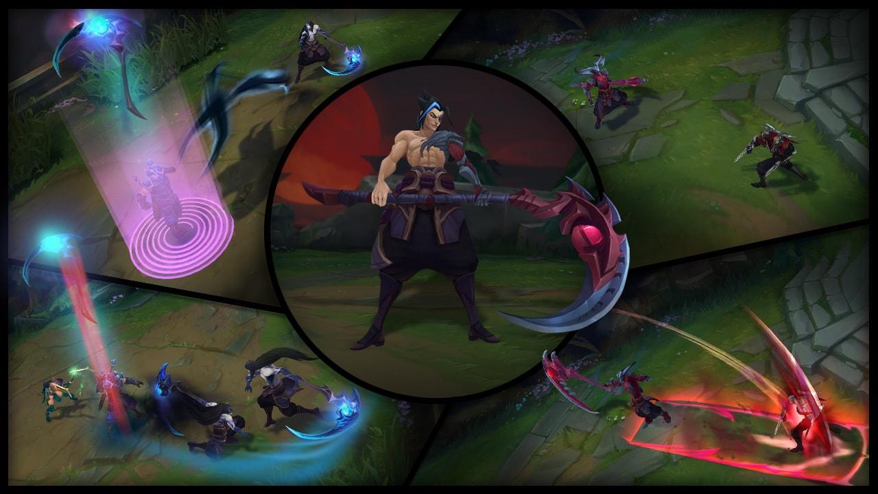 Resultado de imagen de kayn the shadow reaper