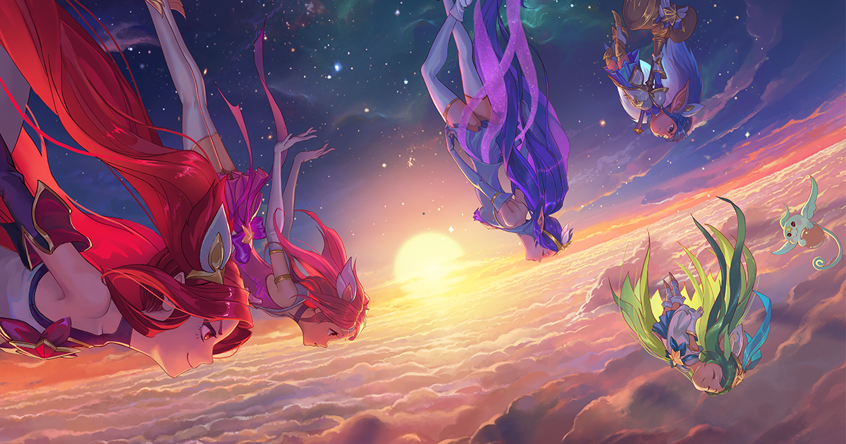 Star Guardians 2016 Janna Poppy Lulu Jinx