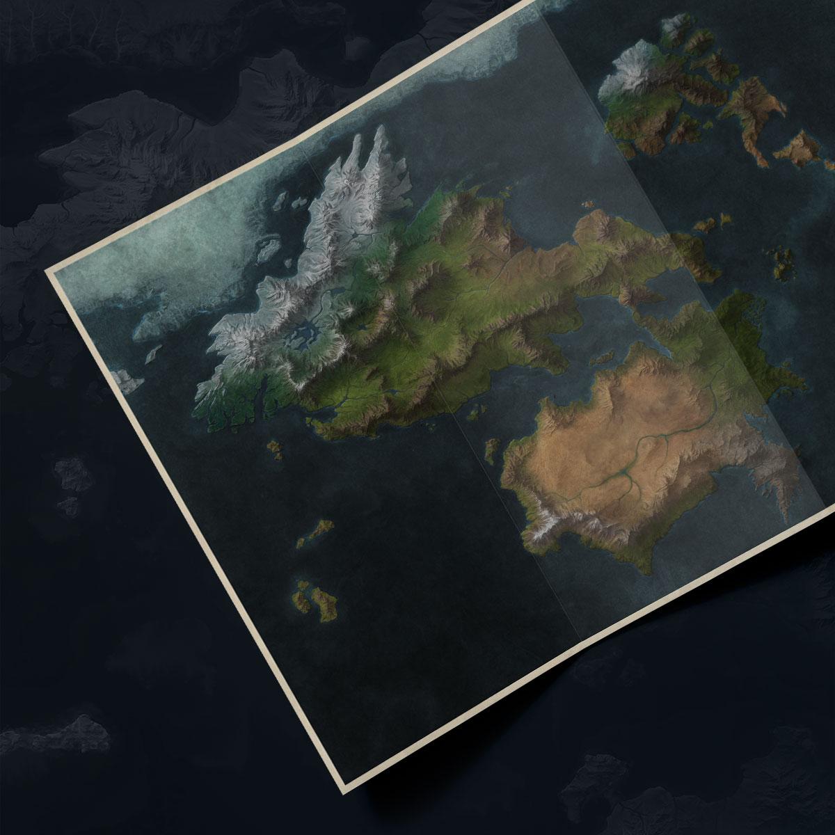 Map of Runeterra - Universe - League of Legends