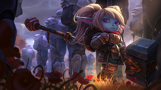 Poppy, a Guardiã do Martelo