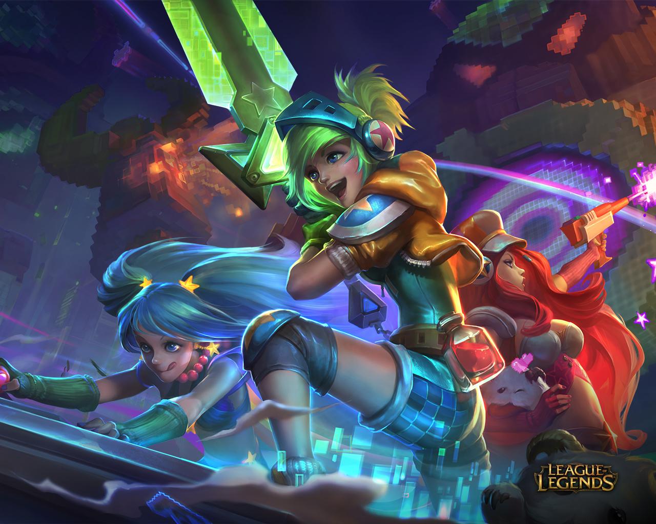 Arcade League Of Legends